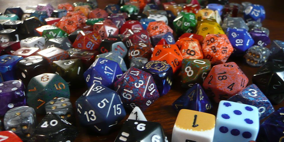 Fistfuls of dice